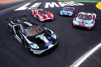 Ford GT del equipo Ford Chip Ganassi Racing
