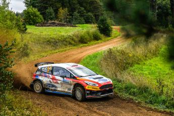 Jan Solans-Mauro Barreiro (Ford Fiesta R5, WRC3). Rally Estonia